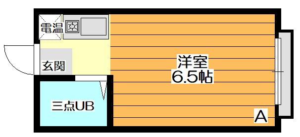 ソサエティ山手(女性専用)  間取り図