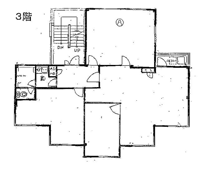 コーエイパレス桜ヶ丘 3F号室 間取り