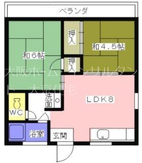 高橋マンション 301号室 間取り