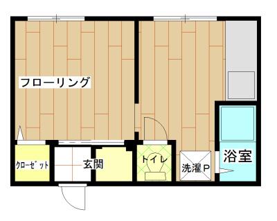 阪口マンション 間取り図