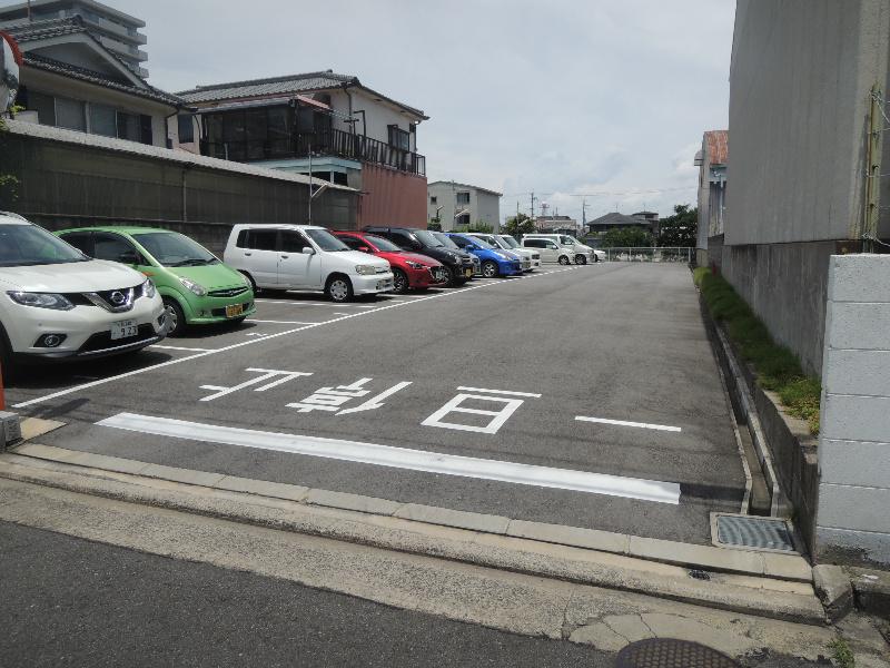 金田モータープール 10号室 外観