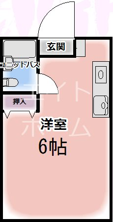 沢井コーポ 103号室 間取り