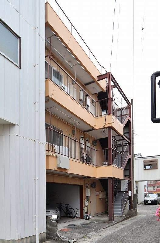 河原マンション 306号室(北側) 外観
