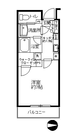 コンフォリア錦糸町 903号室 間取り