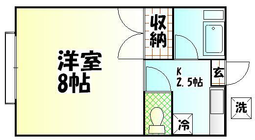 宮田ハイツ 間取り