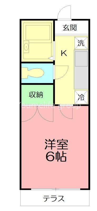Light House Inui 間取り