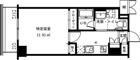 クライテリア東戸塚 間取り図