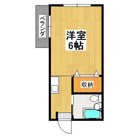 コーポ和泉 102号室 間取り