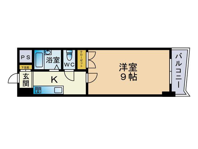 ロイヤル博多駅東 ※※※号室 間取り