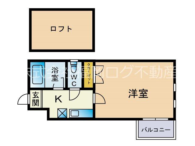 フォレスト平尾 ※※※号室 間取り