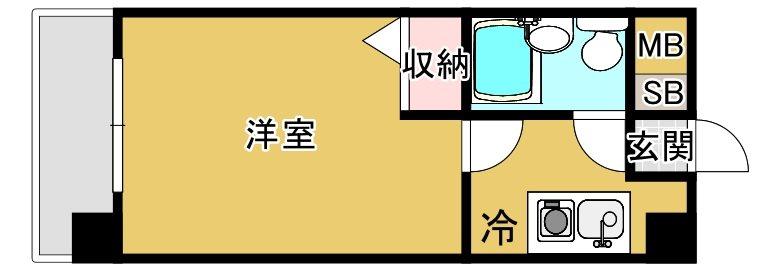 メゾンドコンフォート ※※※号室 間取り