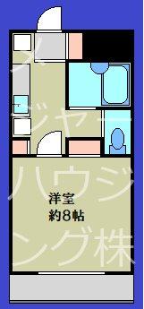 アマ―ビレYSK  08:00~23:00演奏可 307号室 間取り