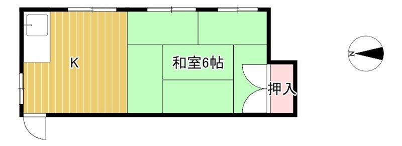 橋本アパート 間取り