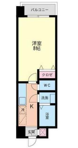 HAMIEL KOKURA 間取り
