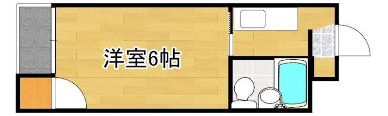 第5濵田ビル 203号室 間取り