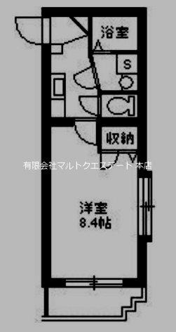 ア・ミューズ宇宿 302号室 間取り