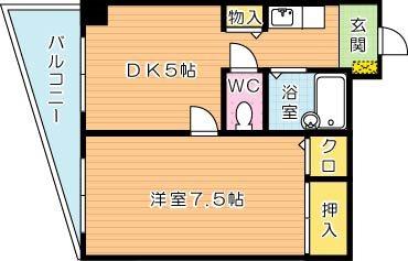【学生★必見】ヒカリビル 間取り