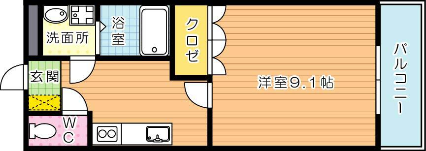【学生★必見】ローズガーデン 間取り
