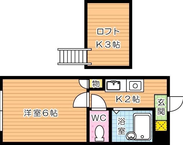 【学生★必見】プルミエール大浦 間取り