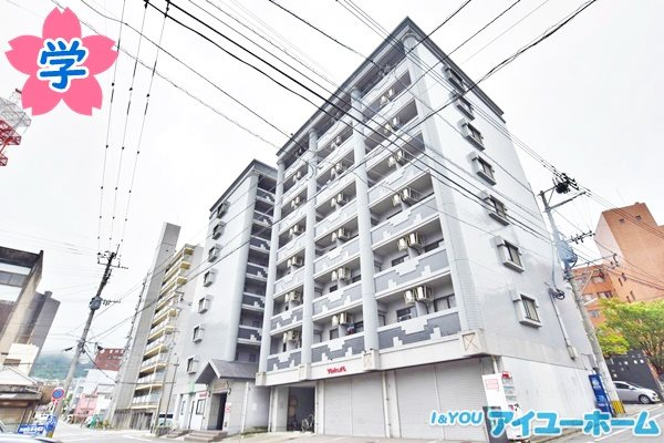 【学生★必見】KMマンション八幡駅前Ⅰ・Ⅱ 外観