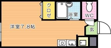 【学生★必見】LEGEND181 C棟(レジェンド181) 間取り