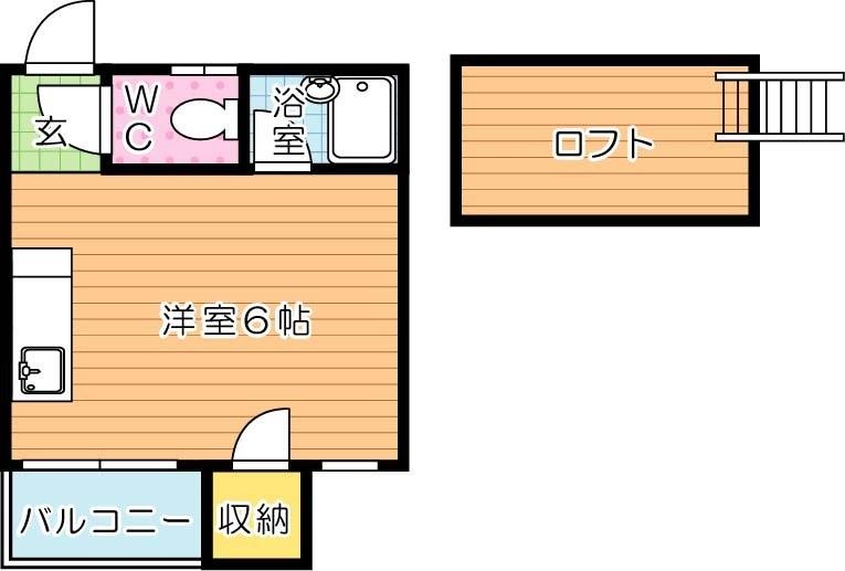 【学生★必見】プルミエール東筑 間取り