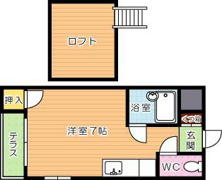 【学生★必見】ライラック21黒崎Ⅱ 間取り