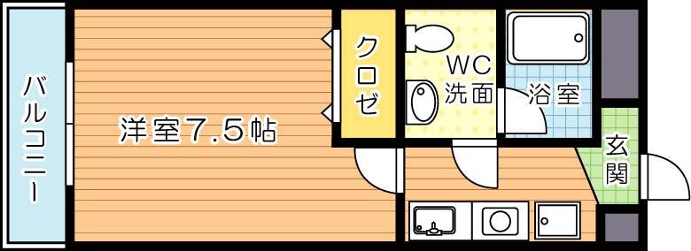 【学生★必見】ヴィラアカデミア 間取り
