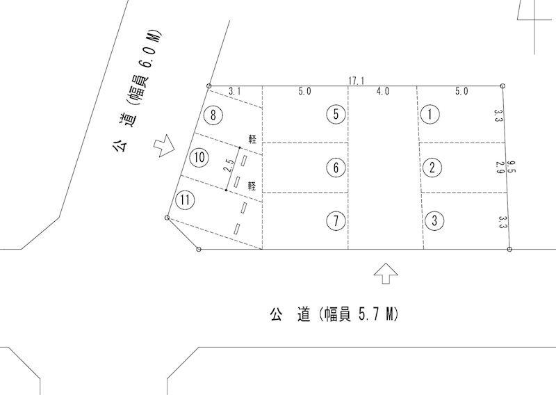 NST増田駐車場(N189) 間取り