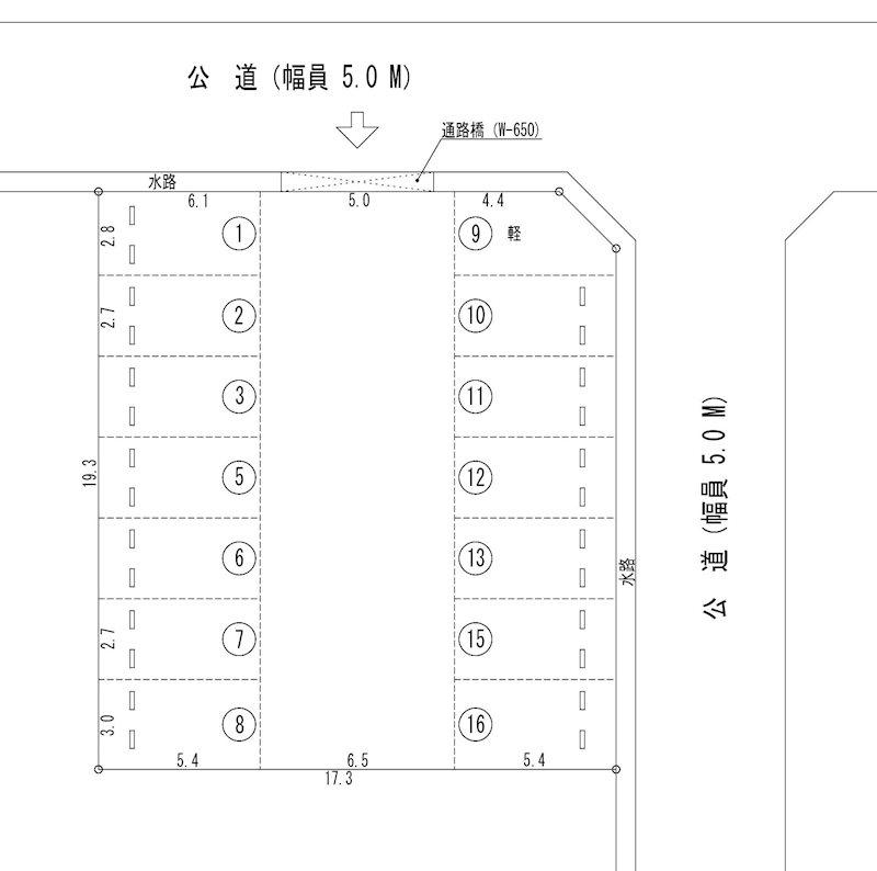 栄加藤駐車場(N055) 間取り