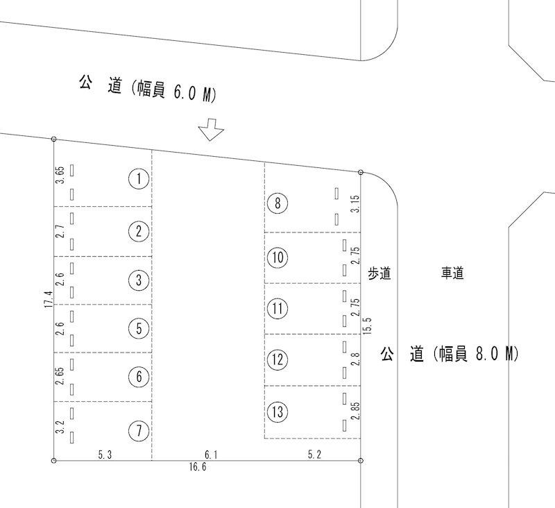 鈴パーキング2(N209) 間取り