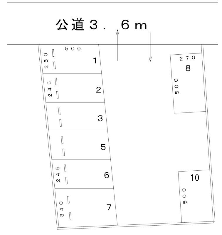 鈴寛パーキング(N075) 間取り
