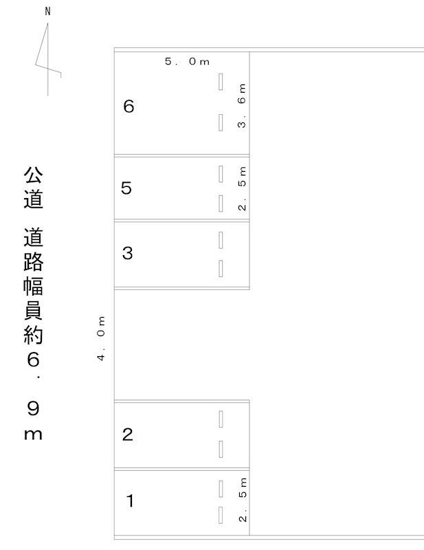 百番駐車場(N113) 間取り