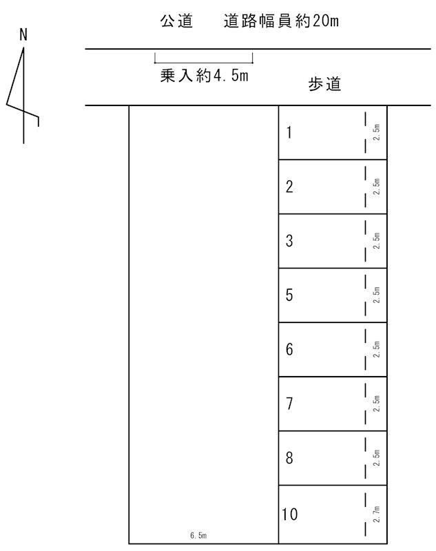 春日井パーキング(N185) 間取り