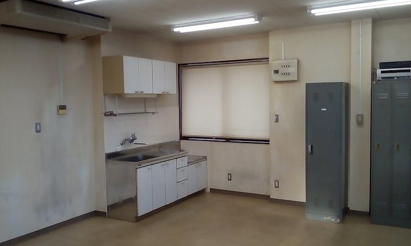宇頭茶屋町貸事務所 2F キッチン
