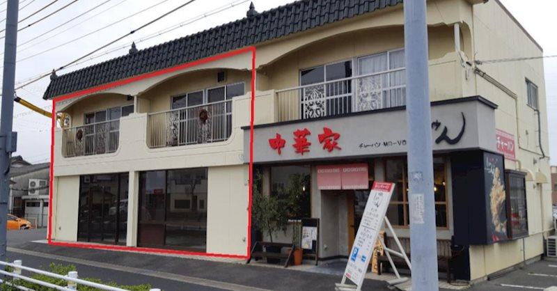 豊田市前田町貸店舗 東側号室 外観