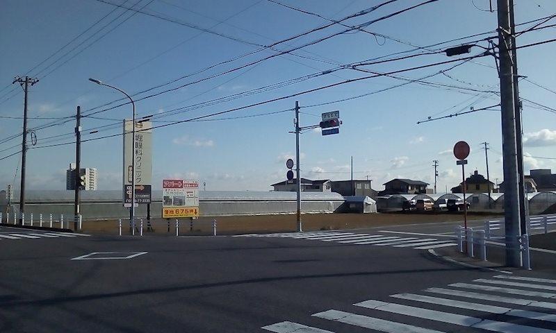 安城市赤松町リース地 外観
