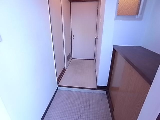 脇浜マンション 玄関