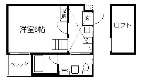 アストレア京都五辻町 205号室 間取り