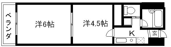 マッケンジー東堀川 間取り