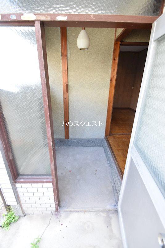 上京区道正町貸家(本多邸貸家) 玄関