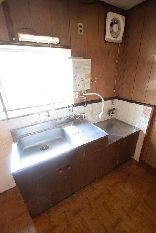 上京区道正町貸家(本多邸貸家) キッチン