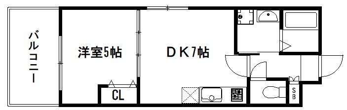 アドバンス京都北大路レフィナード 間取り