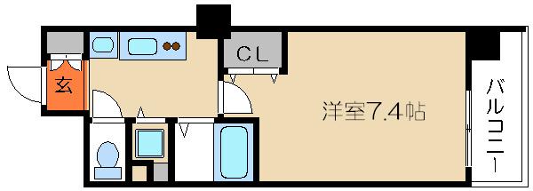 プレサンス京都修学院 間取り図