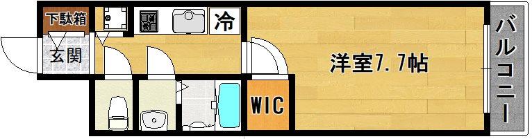 エスプレイス京都駅ウエスト 間取り
