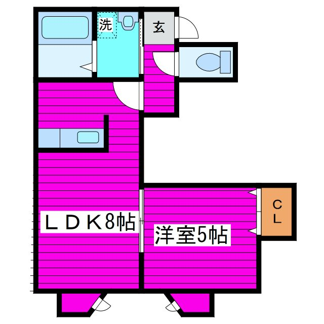 LEE SPACE 新道東 間取り