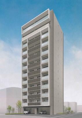 中央町新築マンション B・Cタイプ号室 外観