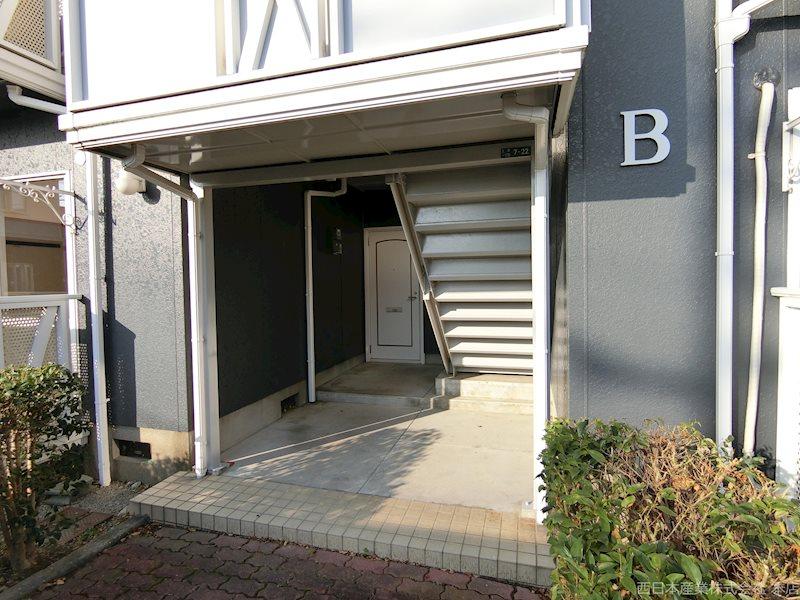 上津コーポB棟 201号室 外観