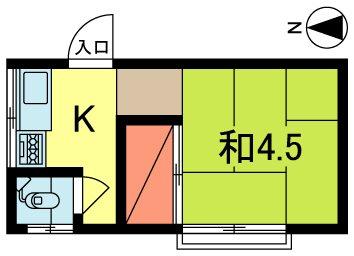 東京都杉並区和田2丁目 間取り