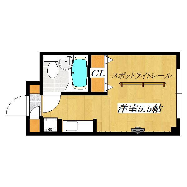 EstateTime No3 601号室 間取り